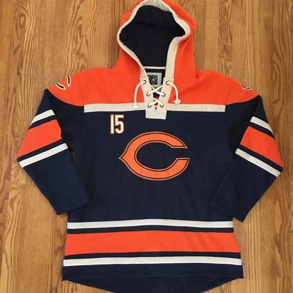 Men s Bears hockey jersey style hoodie sweatshirt.  M 5ae76588d39ca2da69baf1a0 eb129f818